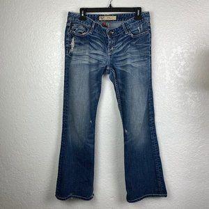 BKE Buckle Stella Womens 31Low Rise Bootcut Jeans